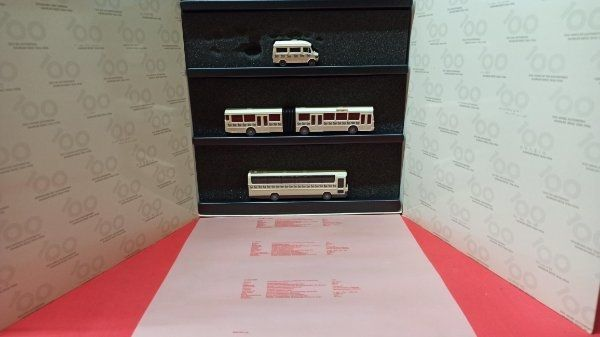 Eisenbahn Modellauto MB Bus Werbepackung