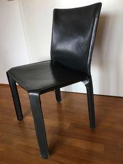 4 Stühle CAB Cassandra Kernleder