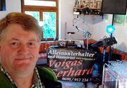 Alleinunterhalter Humorist Voigas Gerhard aus