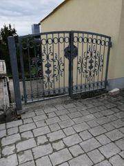 Haus Einfahrts Tor verzinkt