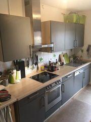 Neuwertige Nolte Küche mit AEG