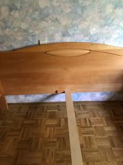 Doppelbett Ehebett Buche massiv geölt