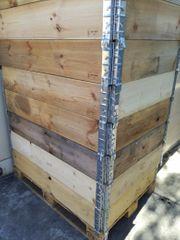 Holzrahmen klappbar als Hochbeet für