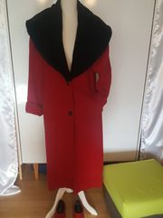 Retro Vintage Damen Winter Mantel