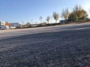 Freifläche Stellplatz Autoplatz Lager Handel