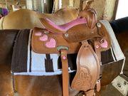 Neuer Ponywesternsattel