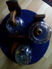 3 getönte edle Wandlampen
