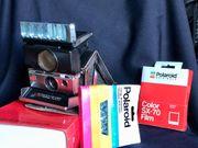 Sofortbildkamera-Klassiker POLAROID SX 70