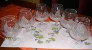 Cognacschwenker Whiskyglas mit Lotusblüten -Schliff