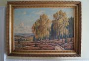 Willy Hanft Gemälde Sachsen Wald