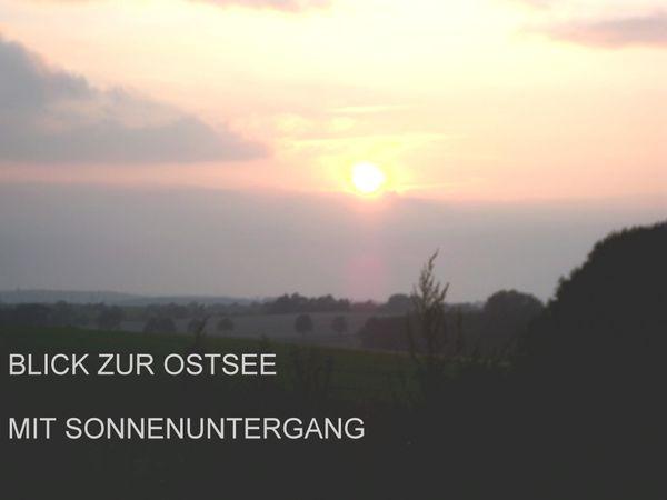 ALLEINLAGE mit OSTSEE-BLICK im Landschaftsschutzgebiet