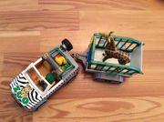Playmobil 4855 Zoo-Fahrzeug mit Anhänger