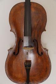 Altes Meister Cello Celli Zettel
