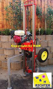 Brunnenbohrgerät Mieten bis 10 Meter