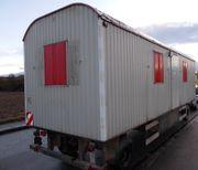Großer 8 m - Bauwagen 80km