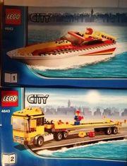 LEGO-CITY 4643 LKW mit Speedboot