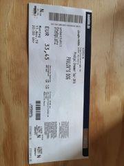 pavlov s dog Konzert ticket