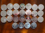 Kompletter Satz 10EUR Münzen 2011 -