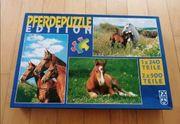 Pferdepuzzle Edition - 3 Puzzle unterschiedliche