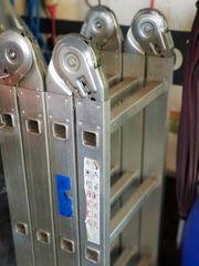 Aluminium Leitern 6- 12 Sprossen