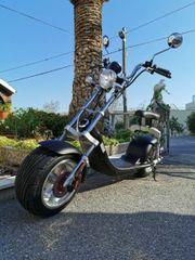 E-Scooter 1200 W -neuwertig- EEC