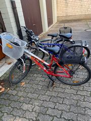 Fahrräder in 26 Zoll drei