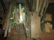 Holz Bauholz und Holzklötze sehr