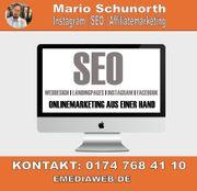 SEO Suchmaschinenoptimierung Onlinemarketing Freelancer
