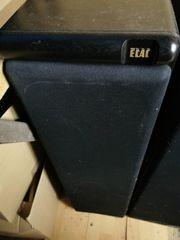 2 Elac EL140 Standboxen Alt