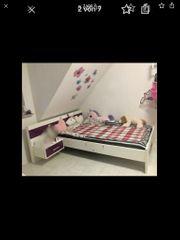 Bett Doppelbett Nachttisch Lattenrost Matratze