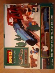 Großes BRIO Eisenbahn-Sortiment 108 Teile