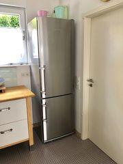 Liebherr Edelstahl Kühlschrank mit Gefrierkombi