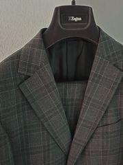 Zegna Anzug DROP8 SLIM grau