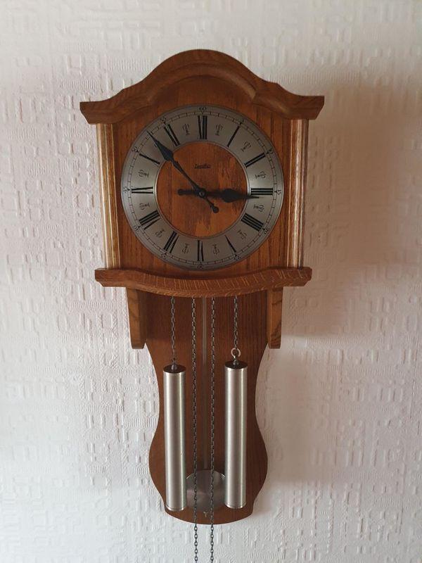 ZentRa Wanduhr Pendeluhr Mechanisch Uhr