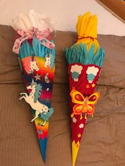 Schultüte für Mädchen 2 Stück