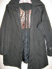 Günstige Damen-Winterjacke schwarz Gr 40