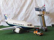 Playmobile Flughafen incl zahlreichem Zubehör