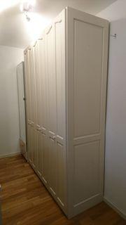 Ikea Pax 3er Schrank weiss