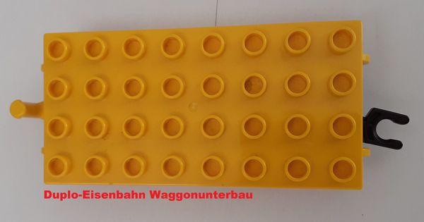 Lego Duplo Eisenbahn-Waggon-unterbau-unterteil