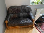 Wildleder Couch 2 sitze