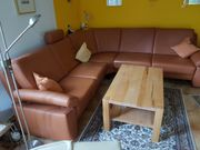 TOP LEDERCOUCH - COUCH - RUNDECKE