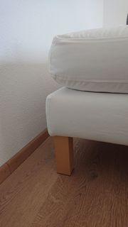 Hocker Karlstad naturweiß passender Sessel