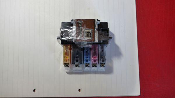 Druckkopf für Canon iP4950 mit 5 vollen Tintenbehältern