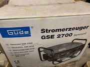 Stromerzeuger Generator Güde 2700 2