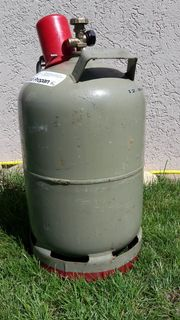 Gasflasche grau 11kg