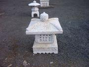 Granitlaterne für den Garten -neu-