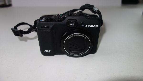 Canon PowerShot G15 Kamera Compact