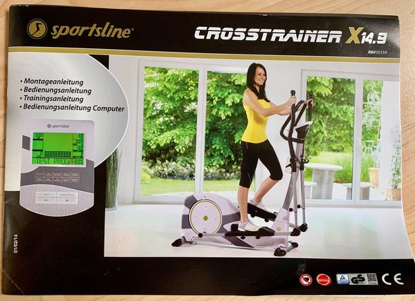 Crosstrainer X 14 9 sportsline