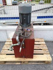 Hydraulikaggregat zweistufig 7 5 KW