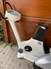 Hometrainer Ergometer Fahrrad zu verschenken